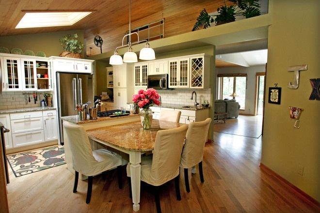 43 Best Kitchen Peninsula And Narrow Islands Images On Pinterest Small Kitchens Dream