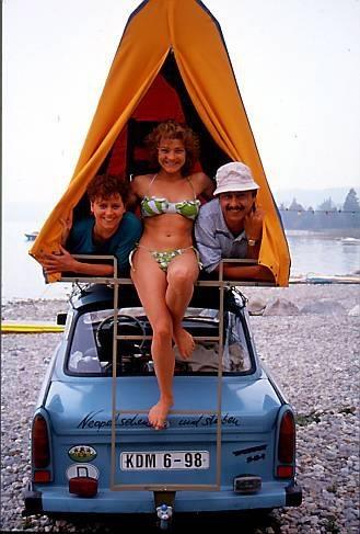 Trabant Dachzelt - 70er Jahre