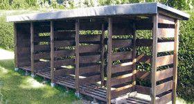 (c.) GAH Alberts - Kaminholzunterstand - sicher, sauber, trocken stapeln