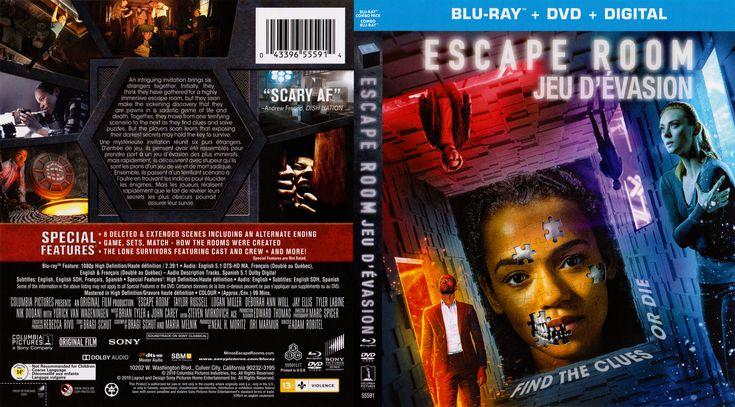 Escape Room 2019 Blu Ray Escape Room Custom Dvd