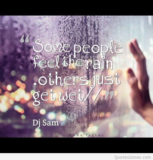 Rainy Day Inspirational Quotes. QuotesGram