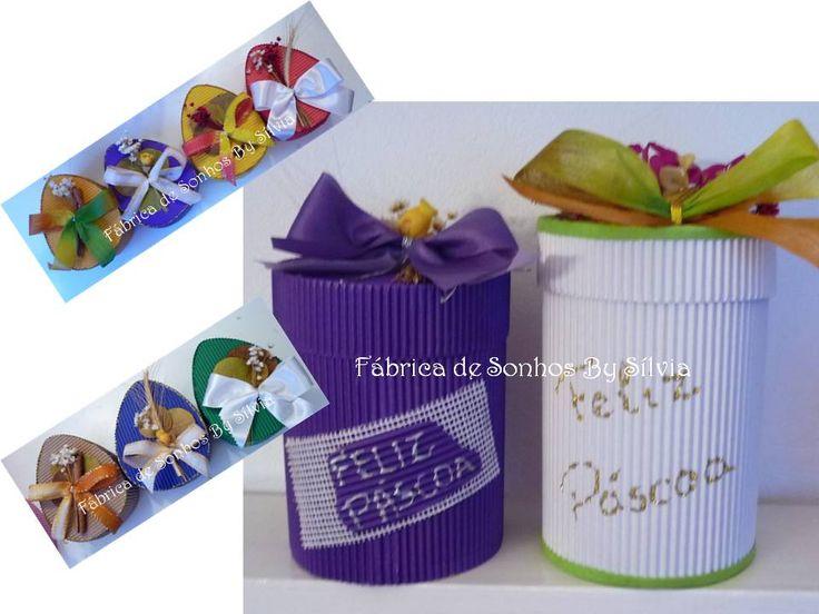 Fábrica de Sonhos by Sílvia: Caixas Em Papel Microondulado