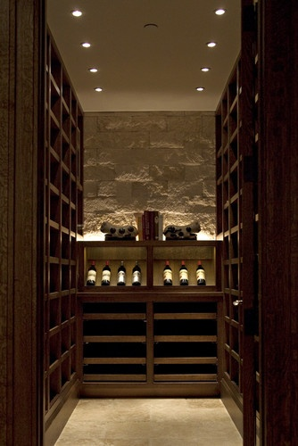 26 best bookcase under stairs images on pinterest bar for Wine cellar lighting ideas
