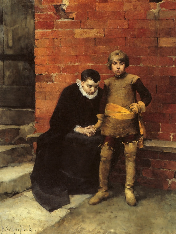 At the Door of Linköping Jail in 1600. Helene Schjerfbeck (July 10, 1862 – January 28, 1946) This Day in History: Mar 20, 1600: Linköping Bloodbath http://dingeengoete.blogspot.com/
