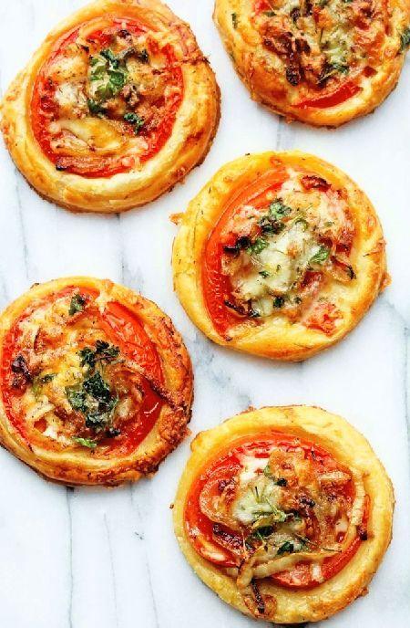 Low FODMAP Recipe and Gluten Free Recipe - Tomato tarts http://www.ibs-health.com/low_fodmap_recipe_tomato_tarts.html