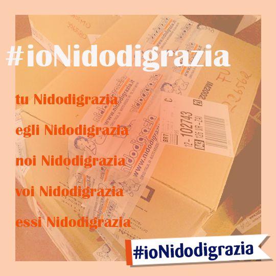 Io, tu, noi. Siamo tutti una grande famiglia. Coniughiamo questa gioia con una foto? http://www.nidodigrazia.it/ionidodigrazia #ioNidodigrazia