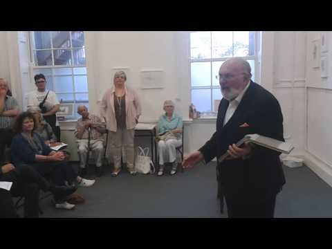 MHBD's Blog: David Norris dazzles with his reading from Ulysses...