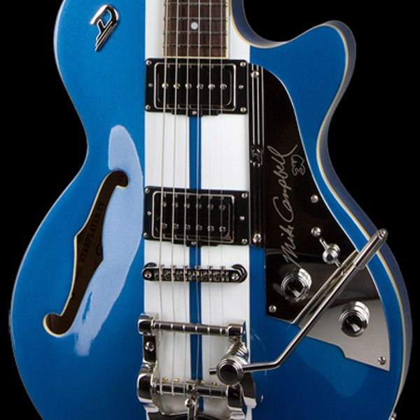 The awesome Mike Campbell signature from Duesenberg Guitars.