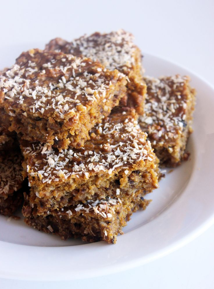 These bars look amazing! Such a delicious healthy treat!