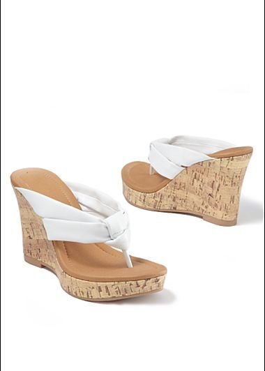 46478266fdee8 Venus Thong Wedge Sandal