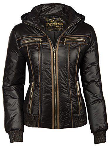 2c5c42b66c1031 Trisens-Damenjacke-BERGANGJACKE-Biker-Jacke-Jacket-KURZ-LEICHT ...