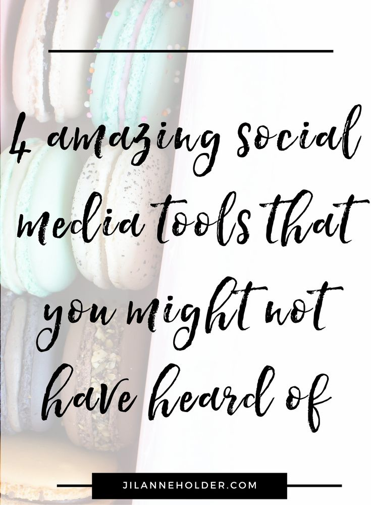 4 amazing social media tools that you might not have heard of
