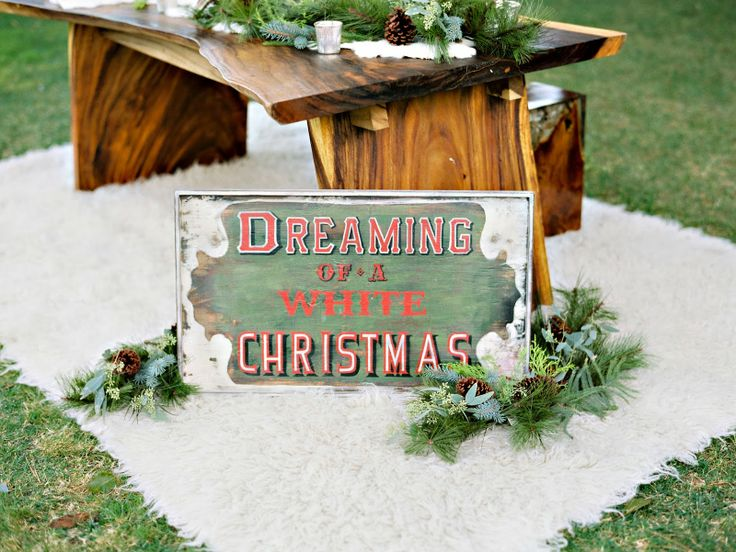Dreaming of a Rustic Christmas