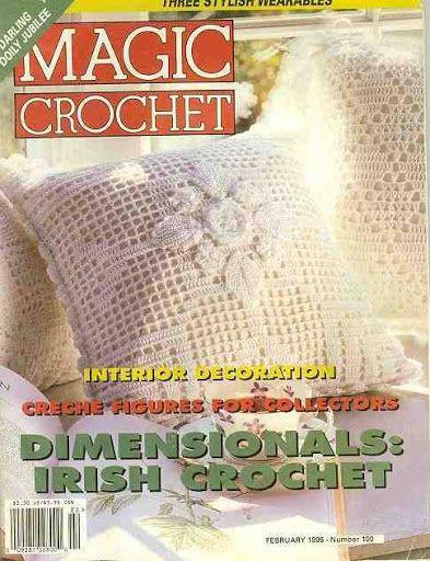 MAGIA CROCHET 100 - Mirtha Aracely Izaguirre - Picasa Web Albums...FREE MAGAZINE!