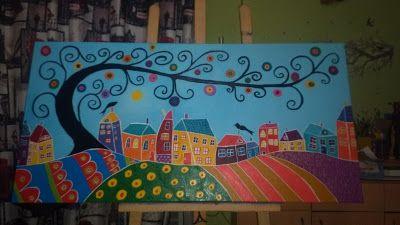 Βάλε χρώμα: Πίνακας ζωγραφικής (60X120)