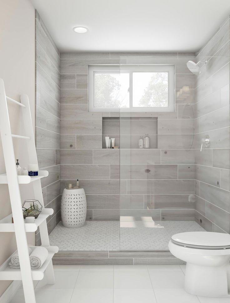 28 Inspirational Walk In Shower Tile Ideas For A Joyful Showering Unique Bathroom Tiles Bathroom Remodel Master Unique Bathroom