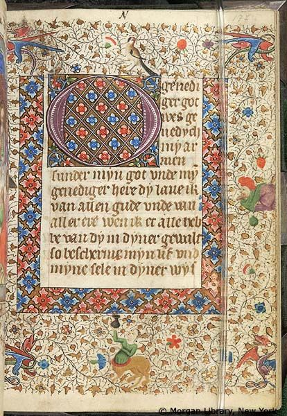 Book of Hours, MS M.76 fol. 177r - Images from Medieval and Renaissance Manuscripts - The Morgan Library & Museum