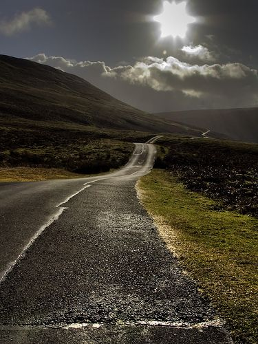 Gospel Pass in the Black Mountains, Wales