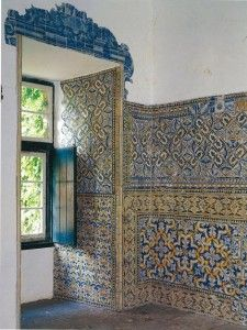 Portuguese Tiles - this is part of my plan for a house that can be cleaned with a hose...
