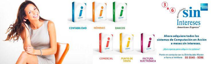 Sistemas #Contpaq I El mejor software contable, administrativo y de #Factura Electrónica  ww.cor.com.mx