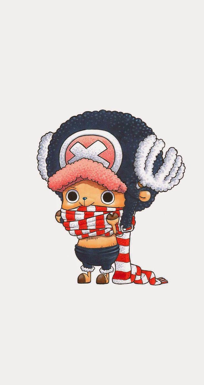 ↑↑TAP AND GET THE FREE APP! Cartoons Art Cute Stylish Pretty Pirate Chopper Manga White HD iPhone 5 Wallpaper