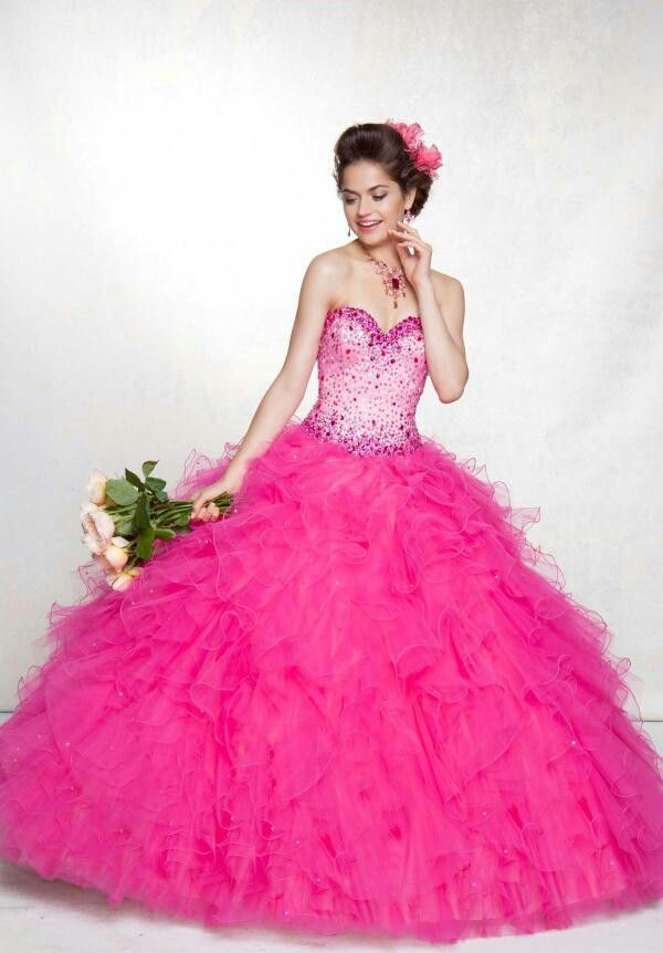 Puffy prom dress dresses pinterest puffy prom for Very puffy wedding dresses