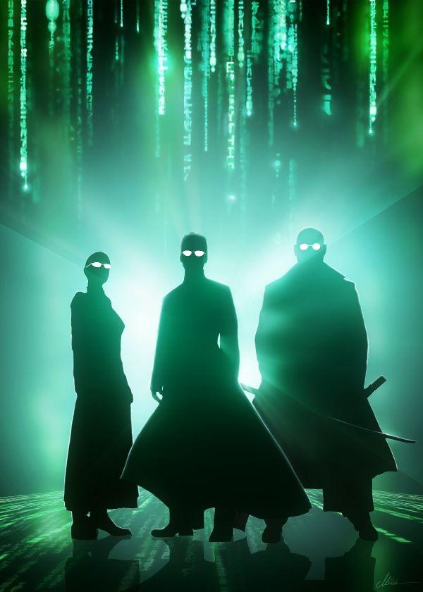 matrix neo trinity morpheus Movies & TV