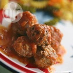 Putenhackbällchen in Tomatensoße @ de.allrecipes.com