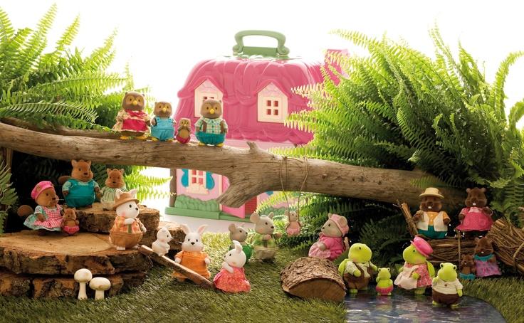 Las familias de Camomille pasan un día en el campo #juguetes #imaginarium