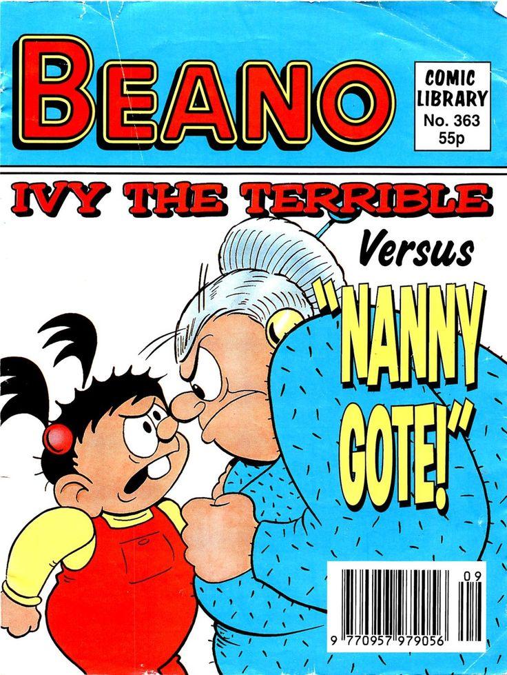 Beano ivy the terrible vintage cartoon comic book