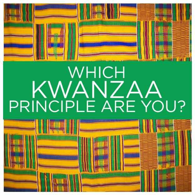 Which Kwanzaa Principle Are You? Shared by Career Path Design.