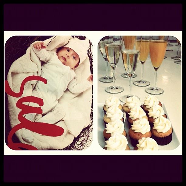 Champagne and cupcakes at the Purebaby VIP warehouse sale - @purebabyorganic- #webstagram
