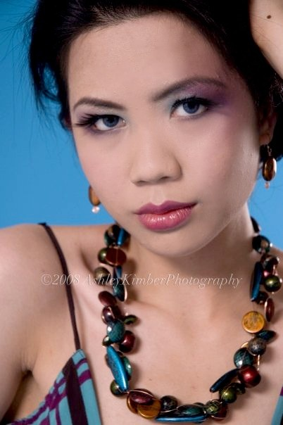 The lovely Mary Jane modelling Daelia Jewellery at our promotional shoot in April of 2008. Handcrafted, one of a kind, Canadian!    [ #necklace, #jewellery, #jewelry, #earrings, #earing, #earring, #fashion, #accessories, #daelia ] Check out more at www.daelia.com