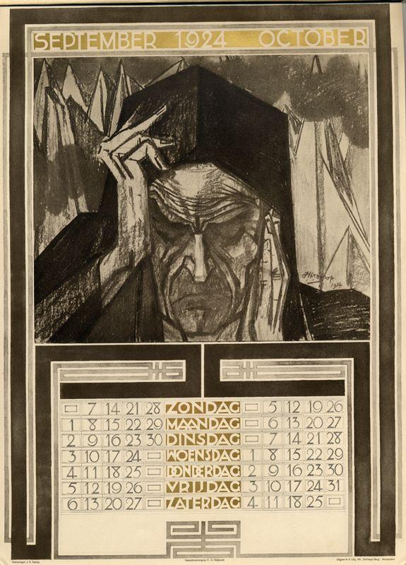 A Journey Round My Skull: Jan Toorop's 1924 calendar