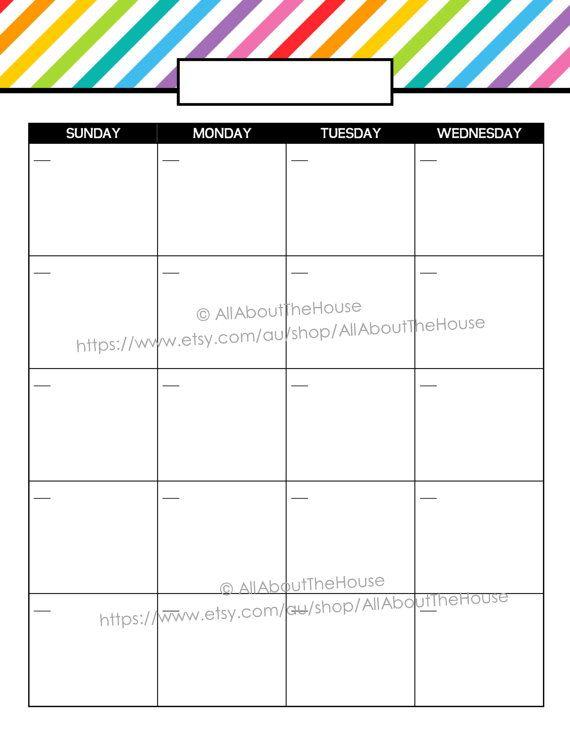 1000+ idéer om 2014 Calendar Printable på Pinterest Gratis - daily calendar printable