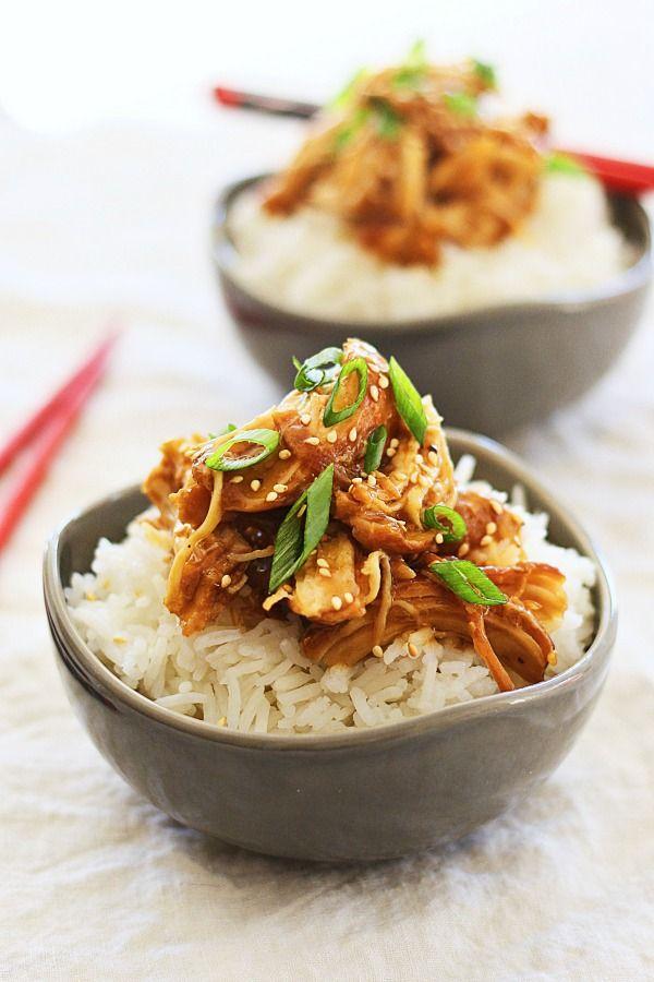 Crock Pot Honey Teriyaki Chicken – tender chicken with sweet, savory ...