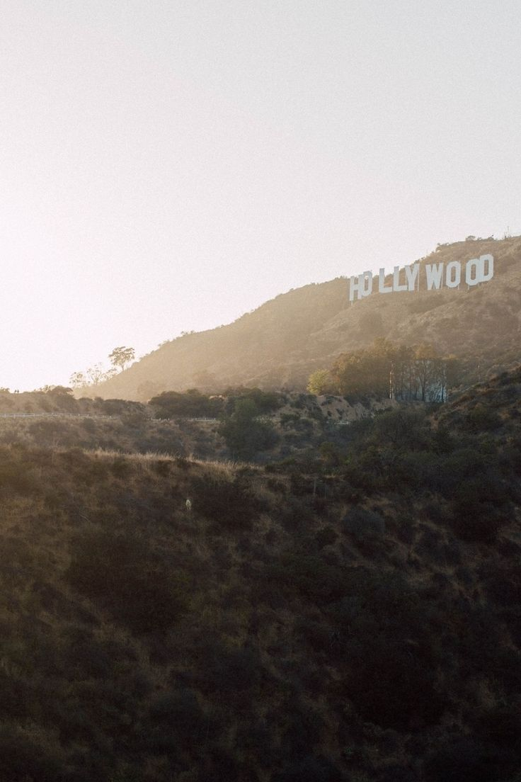 Free download of this photo: https://www.pexels.com/photo/hollywood-mountain-during-yellow-sunset-28303/ #sunset #sign #losAngeles