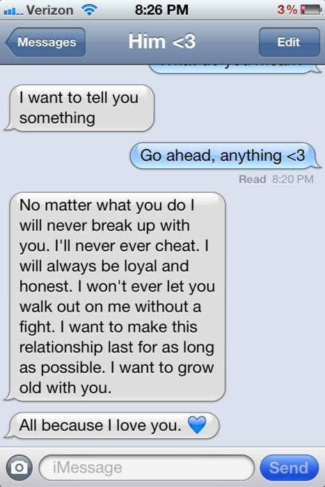 I would do anything to get this kind of text again!!