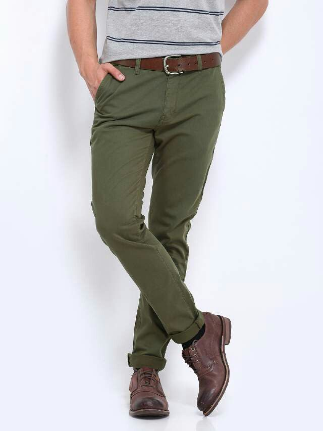 Green Chinos.  #Chinos #Menswear