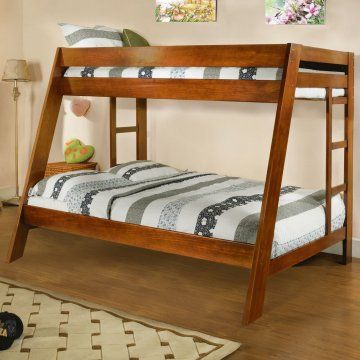Parker Twin over Full Bunk Bed - Twin over Full Bunk Beds at Hayneedle