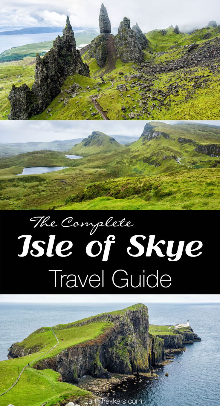 Complete Isle of Skye travel guide. Best things to do, where to stay, where to eat, best time to go.