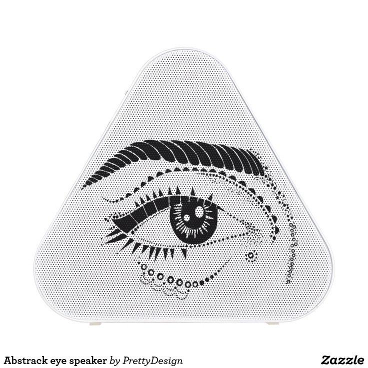 Abstrack eye speaker