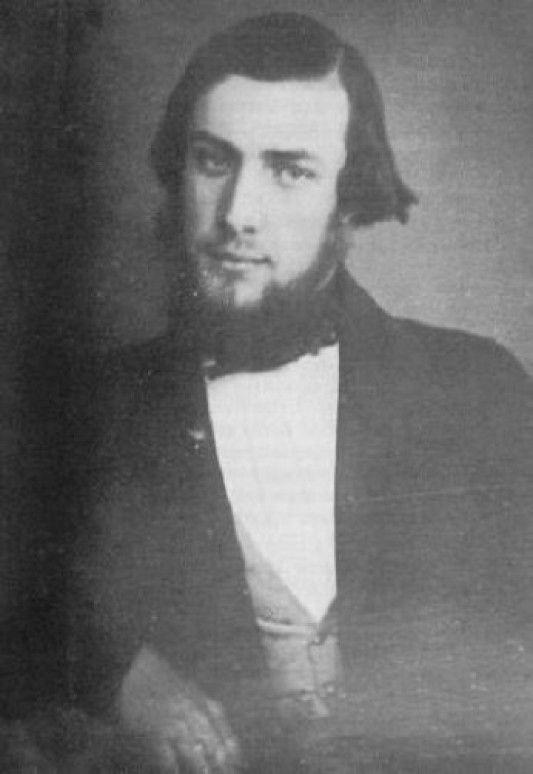 Жюль Верн в возрасте 20-22 лет, 1848-50 гг.