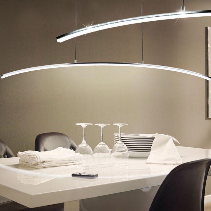 Luxury Pendulum Light LED Living Dinner Room Hanging Lamp 14 Watt Chrome