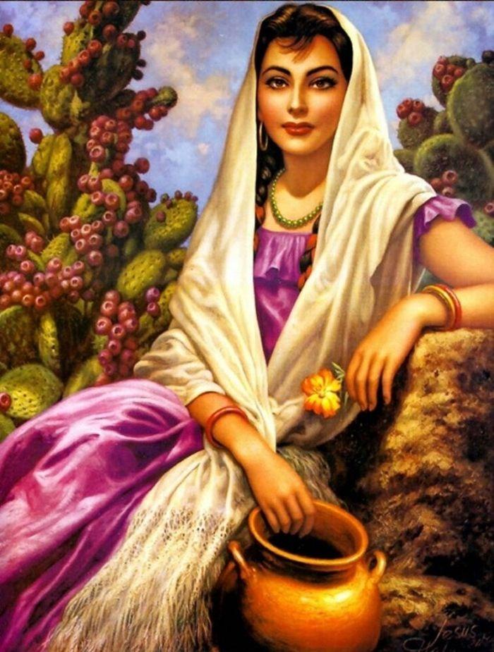 Mexican Art: Jesus Helguera