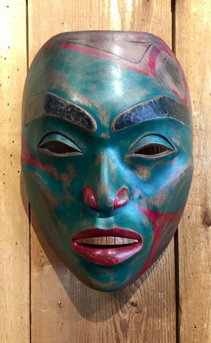47 Best West Coast Native Masks Images On Pinterest West