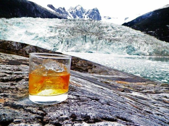 Glaciar , Cordillera Darwin , Cruceros Australis