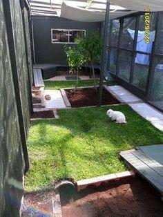 rabbit housing - sharon w. outside