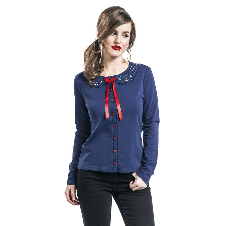"""Cardigan donna """"Lovely Marine"""" del brand #PussyDeluxe."""