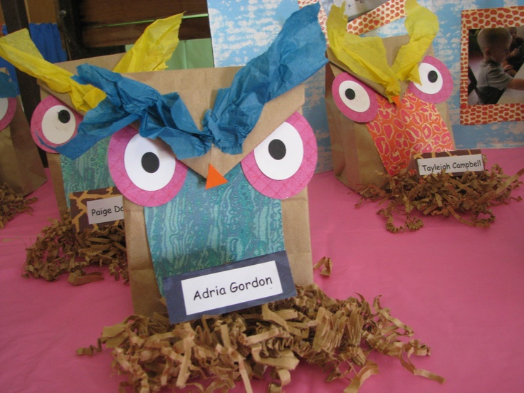 Owl Craft.Sept. Jr. Luth. Craft with Who? Who Love you? JESUS! That's Who!
